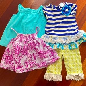 Bundle of 4T Girl's Clothes